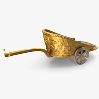 Detailed Roman Chariot