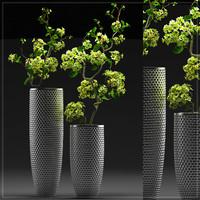 Flower vase set 4