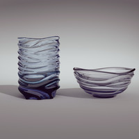 3d moser aurora vases