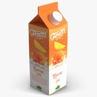 3d juice pack model
