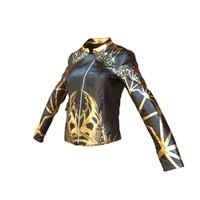 3d black jacket organic golden