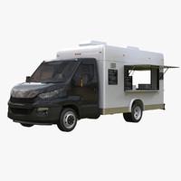 Modern Food Van