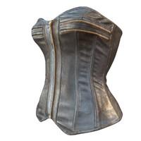 corset zipper leather 3d model