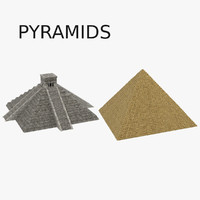3ds mayan pyramids