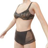 3d model latex lingerie