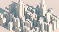 new york city packs 3d c4d