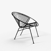 hoop chair 3d max