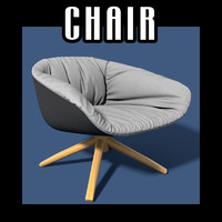 chair interiors 3d model