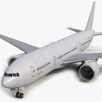 3d boeing 777-200er generic