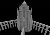 fantasy building taj mahal max