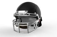 3d helm football model