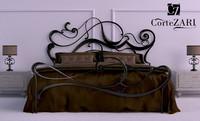 bed-corte zarri 3d model