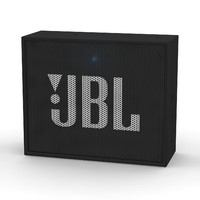 jbl black bluetooth portable 3d model