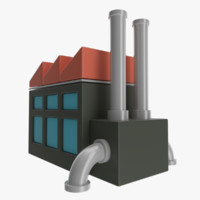 3d model icon factory
