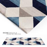 3d rug casa blue model