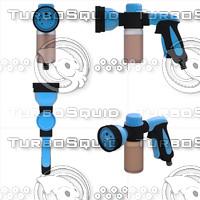 water blue 3d model