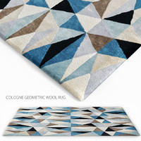 cologne geometric wool obj