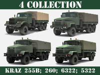 x ukrainian military trucks kraz