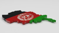 afghanistan flag 3ds