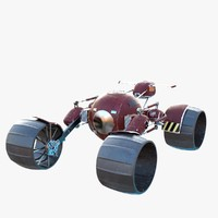 3d space rover