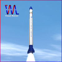 safir space launch vehicle 3d 3ds