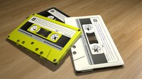 vintage cassette tapes dxf