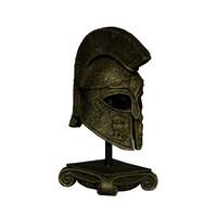 3d helmet sparta