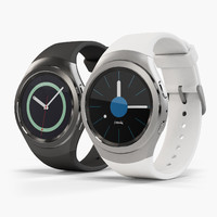 3d samsung gear s2 model