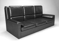Leather sofa (Krider)