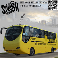 3d model splashtours tour bus