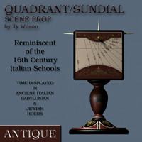 3ds florentine sundial dials