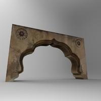stone door arc 3d max