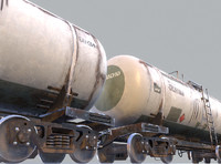 Railway Oil Tank Car vr2