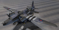 3d model vickers warwick asr-1 world war