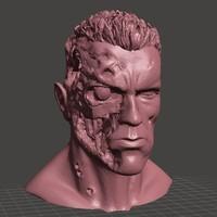 terminator head 3dprinting 3d model