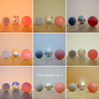 HDRi Vol 2 Skybox Collection