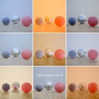 HDRi Vol 6 Skybox Collection
