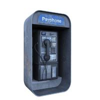3d max payphone