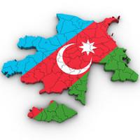 3d model azerbaijan country