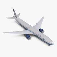 Boeing 777-300ER United Airlines