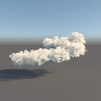 3d pack clouds model