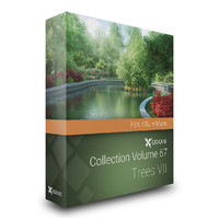 volume 67 - trees 3d obj