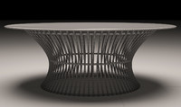 nordsk mandalay coffee table 3d model