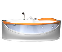 3d model bath bathtub tub