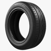 tyre continental 3d model