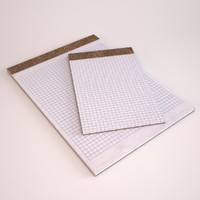 legal graph paper pads 3d max
