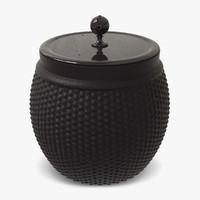 pot container 3d model