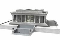 abraham memorial 3d model