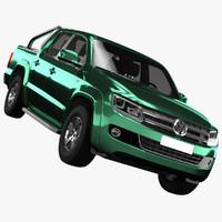 3d volkswagen amarok 2016