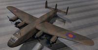 rare avro york mk-1 3ds